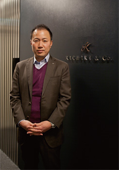 株式会社きちり 代表取締役社長 平川昌紀