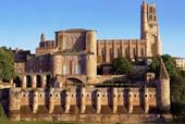 ベルビ宮殿の建物を利用したトゥールーズ=ロートレック美術館。大規模な修復工事を終え、それを機にロートレック・メニューも復活