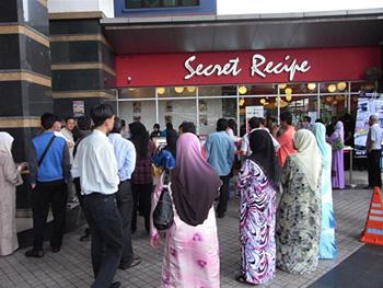 海外からのイスラム教徒の旅行者にも、マレーシア国内のイスラム教徒たちにも人気のシークレット・レシピ