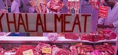 ハラルビジネスは世界的に大きな産業になっている。写真はイスラム教徒が多い都市には必ずある、ハラル肉を売る店