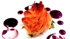 最先端の技術を使ったベジタリアン料理も登場。今までにはない目にも鮮やかなベジタリアン料理が話題となっている