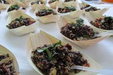 ヘルシーでシンプルな料理と盛り付けが人気の新しいデリバリーサービス「クオキヴォランティ」 photo by CUOCHIVOLANTI