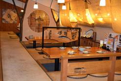 (写真1)「晴れ曇なごみ家」の内観。300席ある大型店舗だ