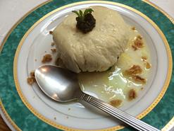 (写真2)ポテトサラダを湯葉で包んだ「噂のポテトサラダ」