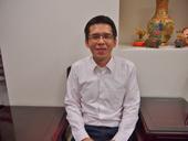 台湾知多家股份有限公司副社長の呂振體氏。「現状に甘んじることなく、多くの世代に親しまれる新しい店づくりやメニューづくりに取り組んでいきたい」と語る