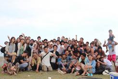 スタッフとその家族たちが集合する「元気屋BBQ」を毎年開催。「100人、200人と盛大にするのが夢」(本田氏)