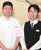 店長 小林 正悟 氏(右)料理長 佐々木 裕児 氏(左)