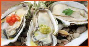 牡蠣の冷製ヴァポーレ