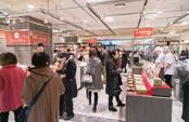 11月24日(和食の日)は、東京で初雪が降るなか、多くの人が来場した