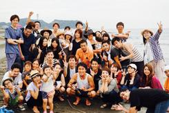 スタッフの絆を大切にする守田氏。毎年、社員旅行や夏のバーベキュー大会なども開催し、親睦を図っている
