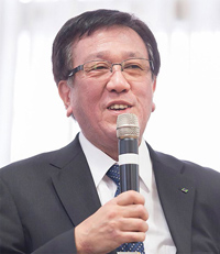 北海道副知事 辻 泰弘 氏