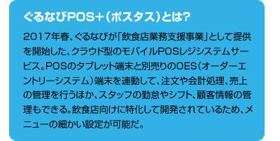 ぐるなびPOS+(ポスタス)とは?