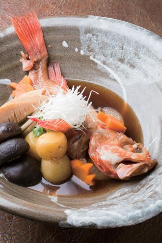 """""""本物の和食""""にこだわる上海では珍しい煮魚も"""