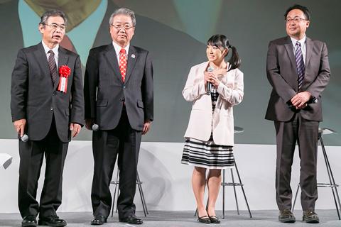 北野、佐藤、才木、梶本の4氏によるトークセッションでは、鶏肉生産の現状や鶏むね肉の優れた栄養価、抗疲労効果などが紹介された