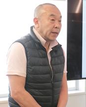 築地魚河岸事業協議会 理事長 「樋栄」代表取締役 楠本 栄治 氏