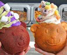 アメリカ・ラスベガスでは「たい焼きパフェ」で成功した店が、「より多くの人に親しんでもらえるデザインを」と、「クマ型」のパフェを開発。かわいいビジュアルが大きな反響を呼んでいる