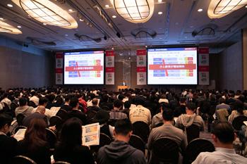 東京会場には1,200名を超える飲食店関係者が来場し、忘年会に向けた傾向と対策に耳を傾けた