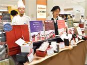 「ギンザスイート」コーナーでは、3店舗が「接待の手土産」掲載商品や限定商品などを販売