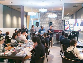 東京会場には、メディアやジャーナリストなど数十人が出席。タイの魅力を再認識しつつ、ランチに舌鼓を打った