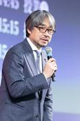 「RED U-35」総合プロデューサーの小山氏。果敢に社会的課題に向き合おうとする若い料理人の志の高さにエールを送った