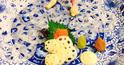 茨城の名産・蓮根(レンコン)の創作料理と、重厚な空間が好評!